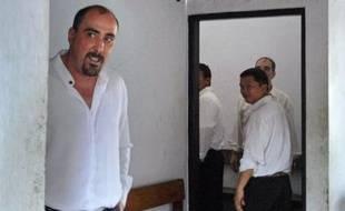 Le Français Serge Areski Atlaoui condamné à mort en Indonésie pour trafic de drogue (ici en novembre 2006).