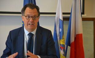 Alex Larue, le candidat LR aux municipales de Montpellier