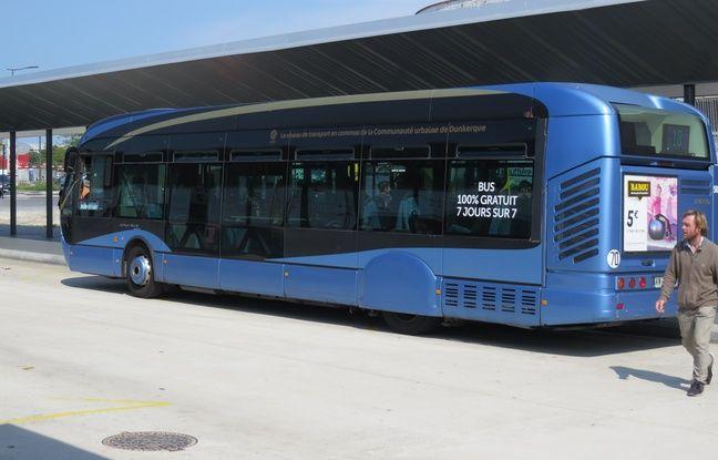 Depuis le 1er septembre, tous les bus de l'agglomération dunkerquoise sont gratuits