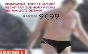 La publicité 3 Suisses