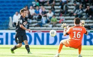 Ludovic Obraniak a inscrit le deuxième but de Bordeaux contre Montpellier (2-0) le dimanche 27 octobre 2013.