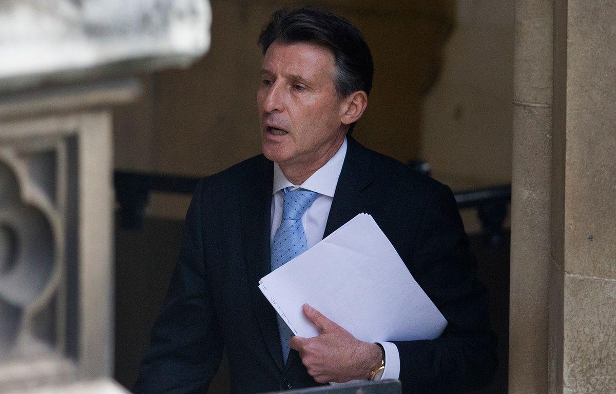 Sebastian Coe, président de l'IAAF, le 2 décembre 2015, à Londres. – JUSTIN TALLIS / AFP