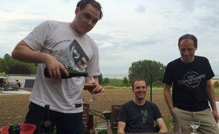 Les jeunes de la «Belgian Homebrewers Association»