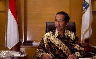 Le président indonésien Joko Widodo, surnommé Jokowi, le 19 août 2014, à Djakarta