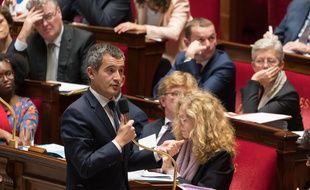 Gérald Darmanin à l'Assemblée.