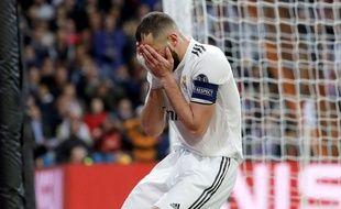 Karim Benzema a joué son 112e match de C1 contre l'Ajax Amsterdame