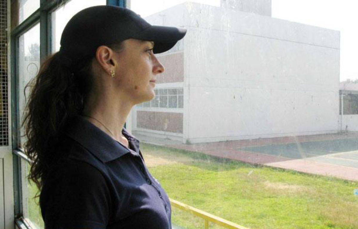 Florence Cassez dans sa prison a Mexico City, Novembre, 2007 – BENJAMIN CHARLES/SIPA