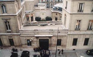 Le siège du Parti Socialiste, rue de Solférino à Paris, illustration