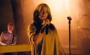 La chanteuse Billie Eilish