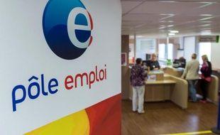 Une agence Pôle Emploi à Armentières le 27 août 2014