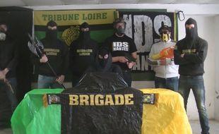 La vidéo You Tube de la Brigade Loire, le plus gros groupe de supporters nantais.
