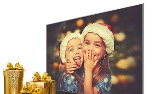 Les téléviseurs encore en bonne place dans la hotte du Père Noël en 2017.