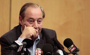 Le président du RC Lens Gervais Martel.