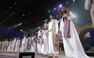 Les Enfoirés au Zénith de Nantes en 2007