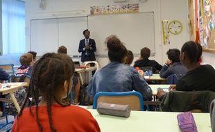 La journée du droit au collège Matisse à Paris.