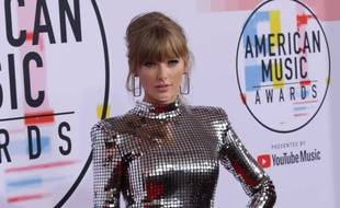 La chanteuse Taylor Swift aux American Music Awards