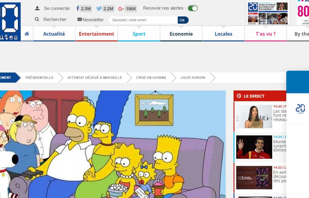 PrésiBot, le bot de 20 Minutes sur l'élection présidentielle. – Capture d'écran