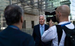 Michel Barnier à Bruxelles, le 22 août 2019.