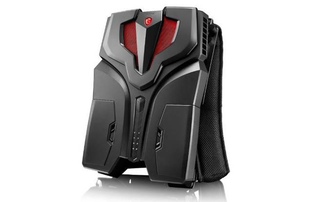 Le sac à dos VR One de MSI contient un PC dernier cri.