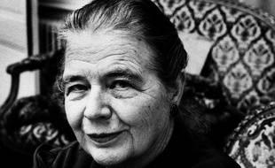 L'académicienne Marguerite Yourcenar en 1980.