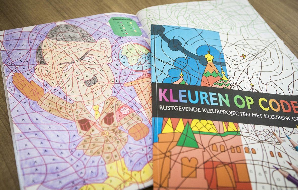 Un dessin d Hitler dans un livre de coloriage vendu aux Pays Bas