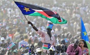 Les célébrations de l'indépendance à Juba, samedi.