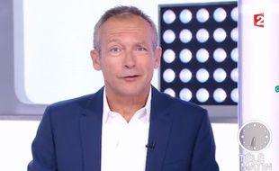 Laurent Bignolas présente son premier «Télématin» le lundi 3 juillet 2017.