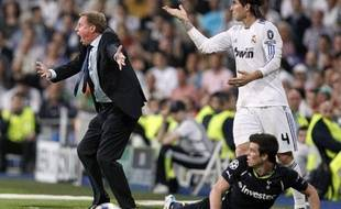 Harry Redknapp, l'entraîneur de Tottenham, lors du match à Madrid, le 5 avril 2011