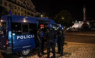Des policiers à Lisbonne en décembre 2019 (illustration)