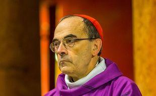 Le cardinal Philippe Barbarin, à Lyon, le 28 novembre 2015.