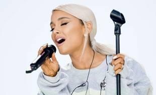 La chanteuse Ariana Grande.