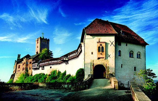 Le château de Wartburg en Thuringe.
