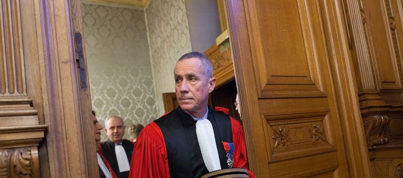 François Molins, procureur de Paris, le 23 janvier 2017.