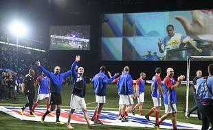 Des joueurs de France 98 en juin 2018 à Paris. (illustration)