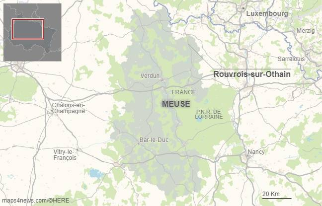 Rouvrois-sur-Orthain. (Meuse).