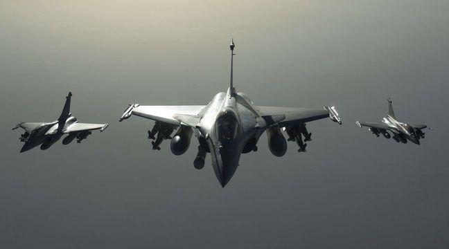 Photo d'un avion Rafale en mission en Syrie publiée le 27 septembre 2015 par l'armée française, qui a mené dimanche les première frappes contre Daesh en Syrie. – AP/SIPA