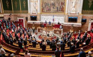 L'Assemblée vote contre le pass sanitaire dans le projet de loi de sortie progressive de l'état d'urgence sanitaire ce mardi 11 mai 2021.