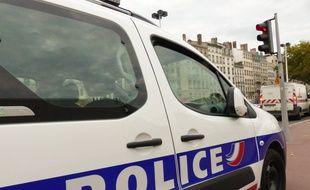 Le 7 octobre 2014, Lyon. Illustration police.