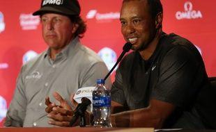 Tiger Woods et Phil Mickelson participeront à la Ryder Cup à Paris.