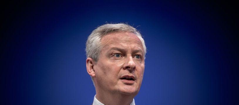 Le ministre de l'Economie et des Finances, Bruno Le Maire, à Paris le 17 Mai 2021.