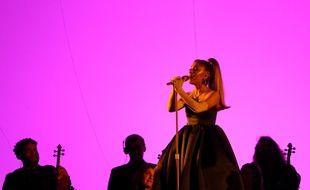La chanteuse Ariana Grande