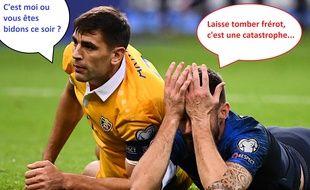 Les Bleus ont livré un match très, très moyen contre la Moldavie au Stade de France.