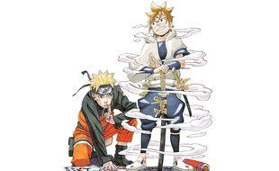 Cinq ans après Naruto (à gauche), le mangaka Masashi Kishimoto dévoile son nouveau héros, le samourai Hachimaru (à droite)