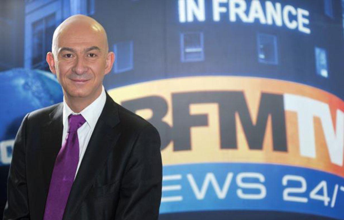 François Lenglet, directeur de la rédaction de BFM Business et chroniqueur de BFM-TV. – Pascal Pottier / Visual / BFMTV