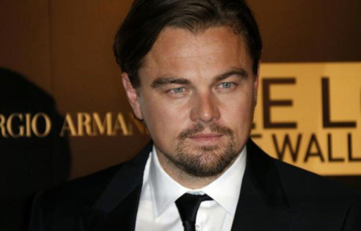 L'acteur Leonardo Di Caprio le 9 décembre 2013, à Paris – Thomas Samson AFP