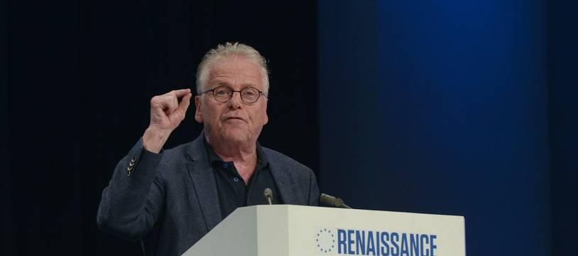 Daniel Cohn-Bendit lors d'un meeting de la liste LREM-MoDem aux élections européennes de 2019. (archives)