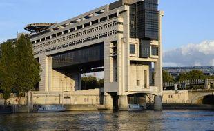L'immeuble du ministère des Finances à Paris.