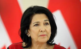 Même le site de la présidente, Salomé Zurabishvili, a été touché par l'attaque.
