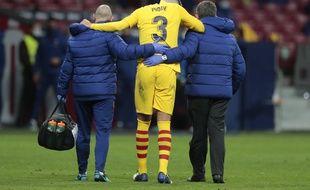 Gerard Piqué, le 21 novembre 2010 au Wanda Metropolitano.