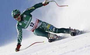 L'Américain Bode Miller, lors du Super G des championnats du monde de Val d'Isère, le 4 février 2009.